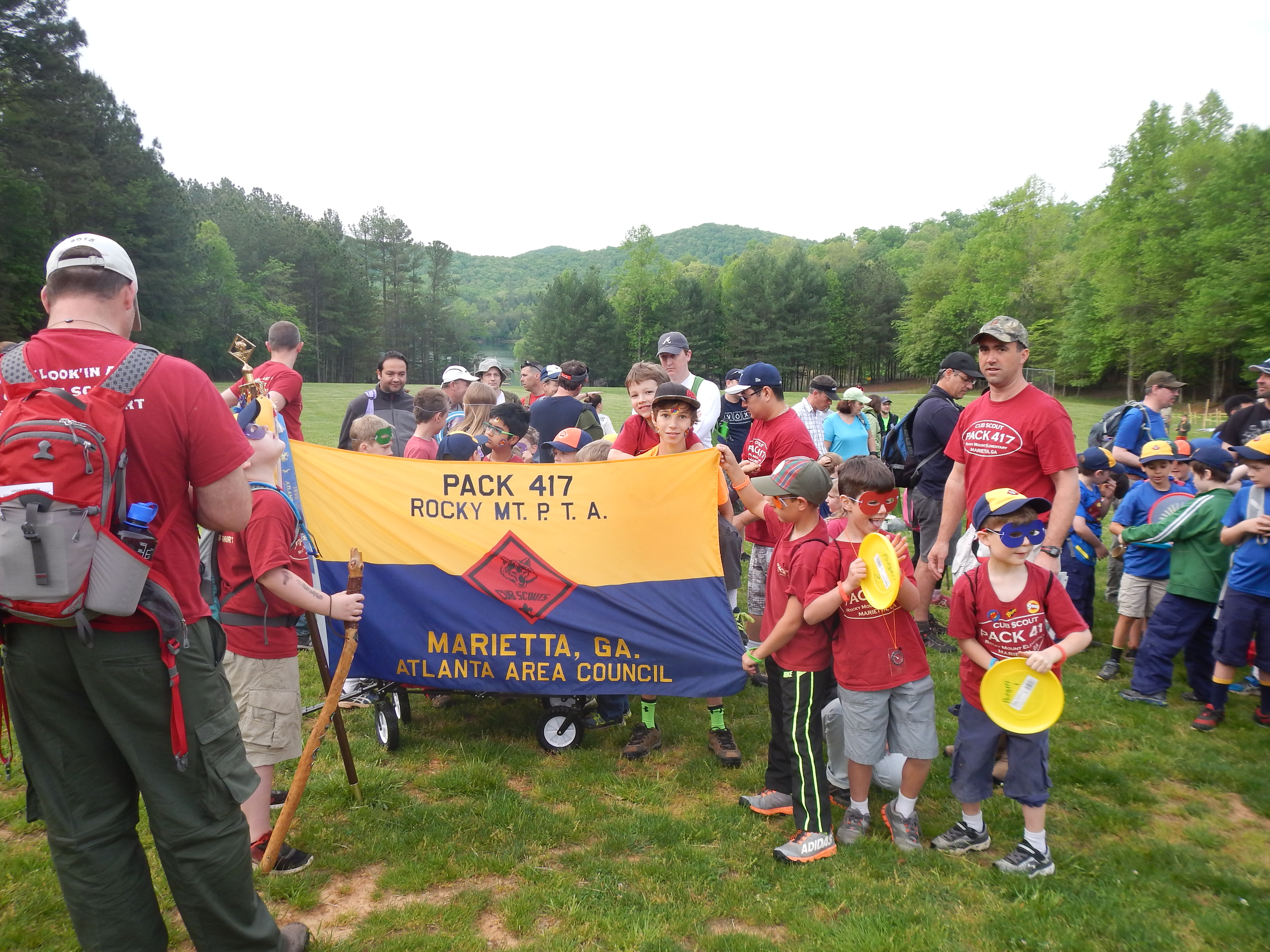 Pack 417 at the Foothills Spring Camporee